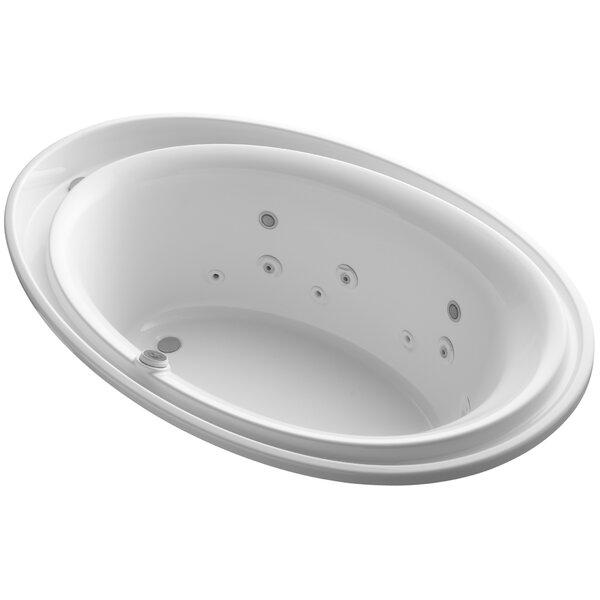 Purist 72 x 46 Air / Whirlpool Bathtub by Kohler