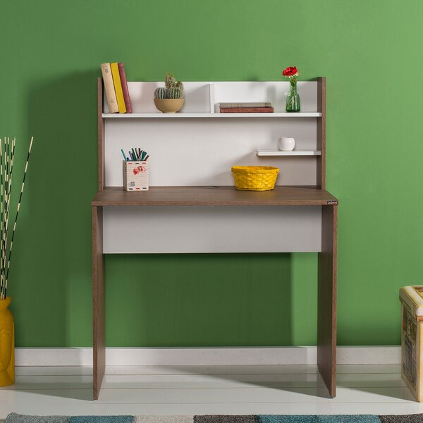 Dishner Desk with Hutch by Ebern Designs