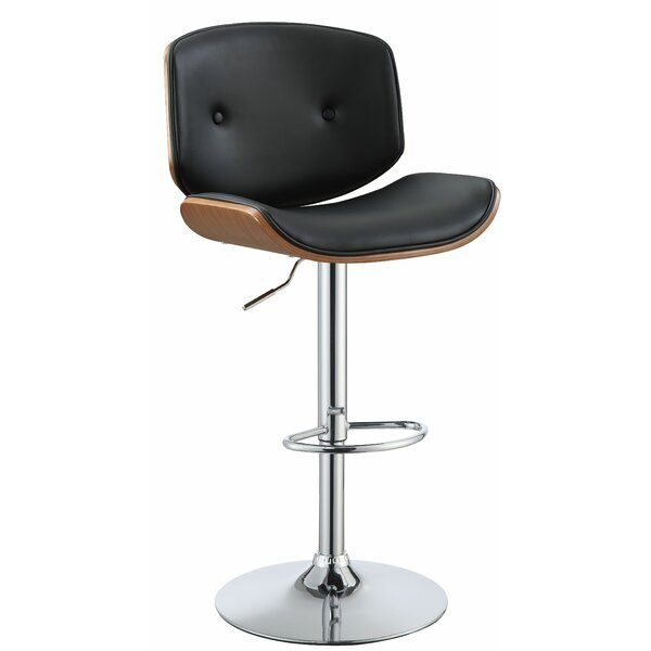 Brought Adjustable Height Bar Swivel Stool by Corrigan Studio
