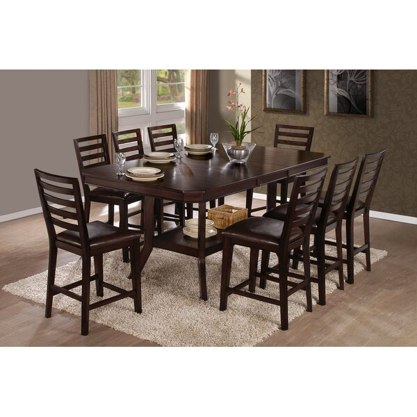 Wahlen Counter Height Dining Table by Charlton Home Charlton Home