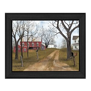 'The Old Dirt Road' Framed Graphic Art Print by Trendy Decor 4U