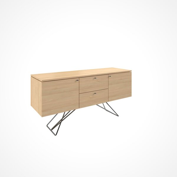 Imani 2 Door and 2 Drawer Buffet Table by Union Rustic