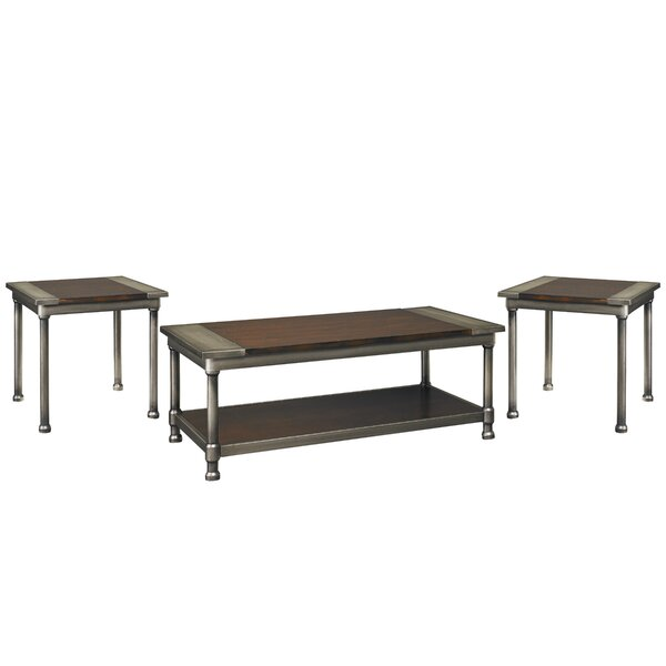Foerer 3 Piece Coffee Table Set by Trent Austin Design