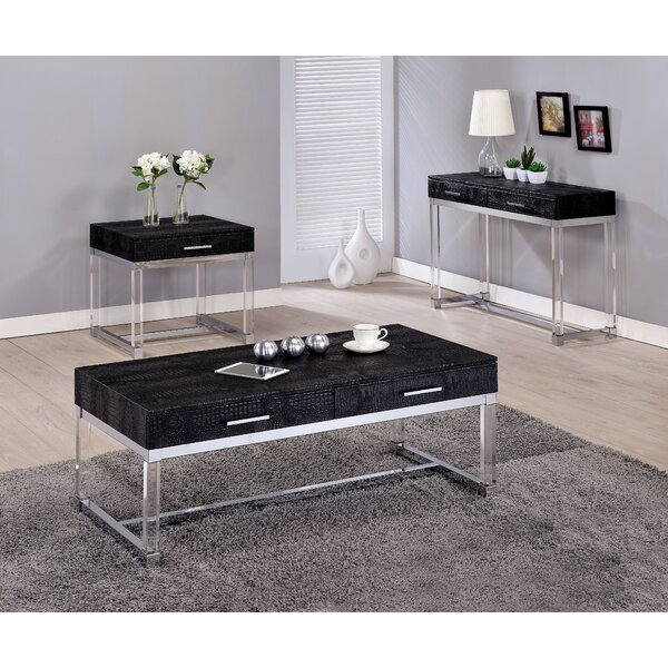 Maxwell 3 Piece Coffee Table Set by Mercer41 Mercer41