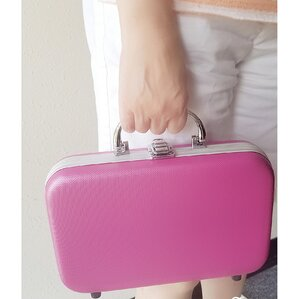 Jewelry and Cosmetic Travel Case by Ikee Design