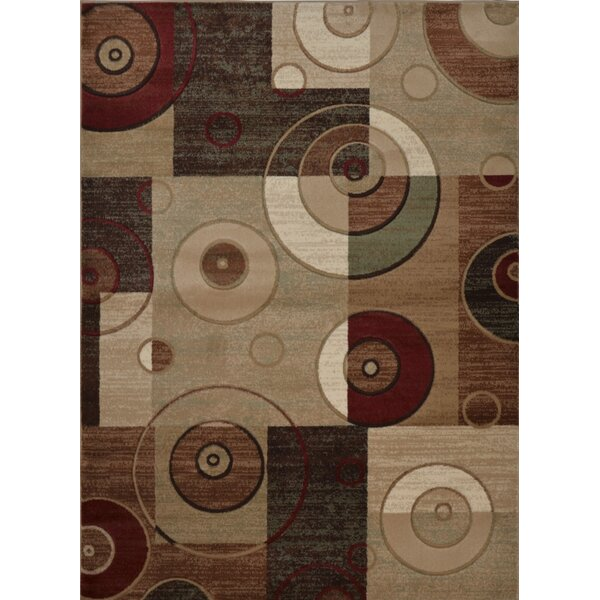 Cathryn Circles and Squares 3 Piece Rug Set by Latitude Run