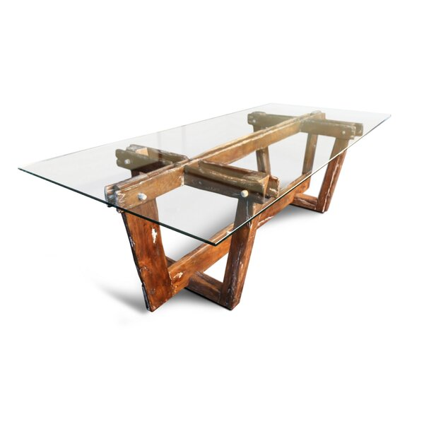 Bednarz Solid Wood Dining Table by Foundry Select