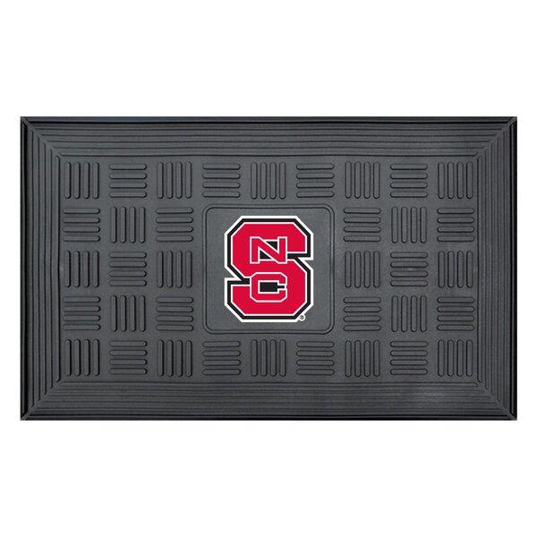 NCAA North Carolina State University Medallion Door Mat by FANMATS