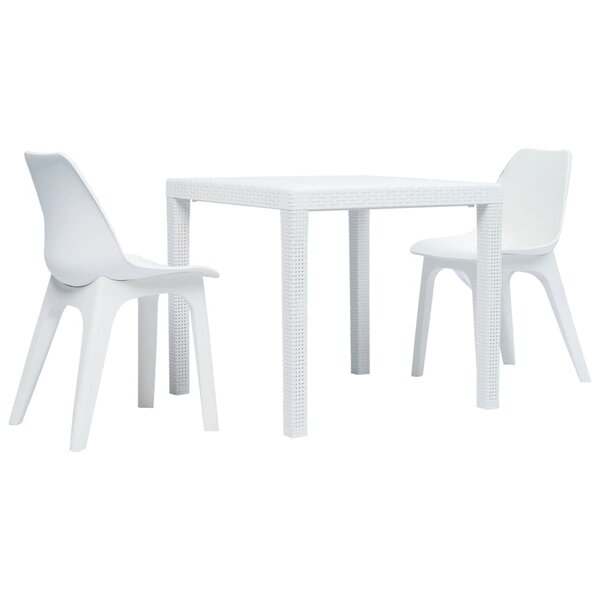 Dip 3 Piece Bistro Set by Ebern Designs