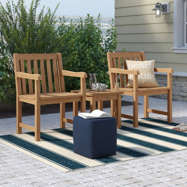 Harpersfield 3 Piece Conversation Set by Beachcrest Home