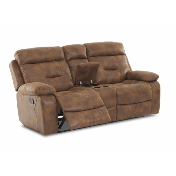 Russel Reclining Loveseat by Charlton Home
