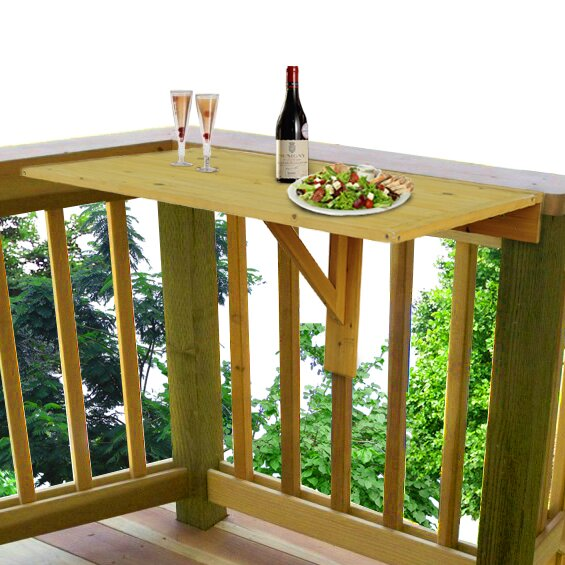 Cholet Mounted Bar Table by Loon Peak