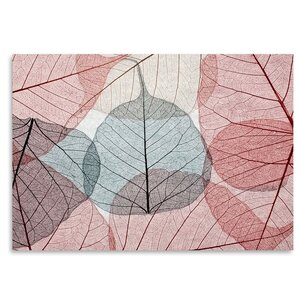 'Leaves2' Graphic Art Print by East Urban Home