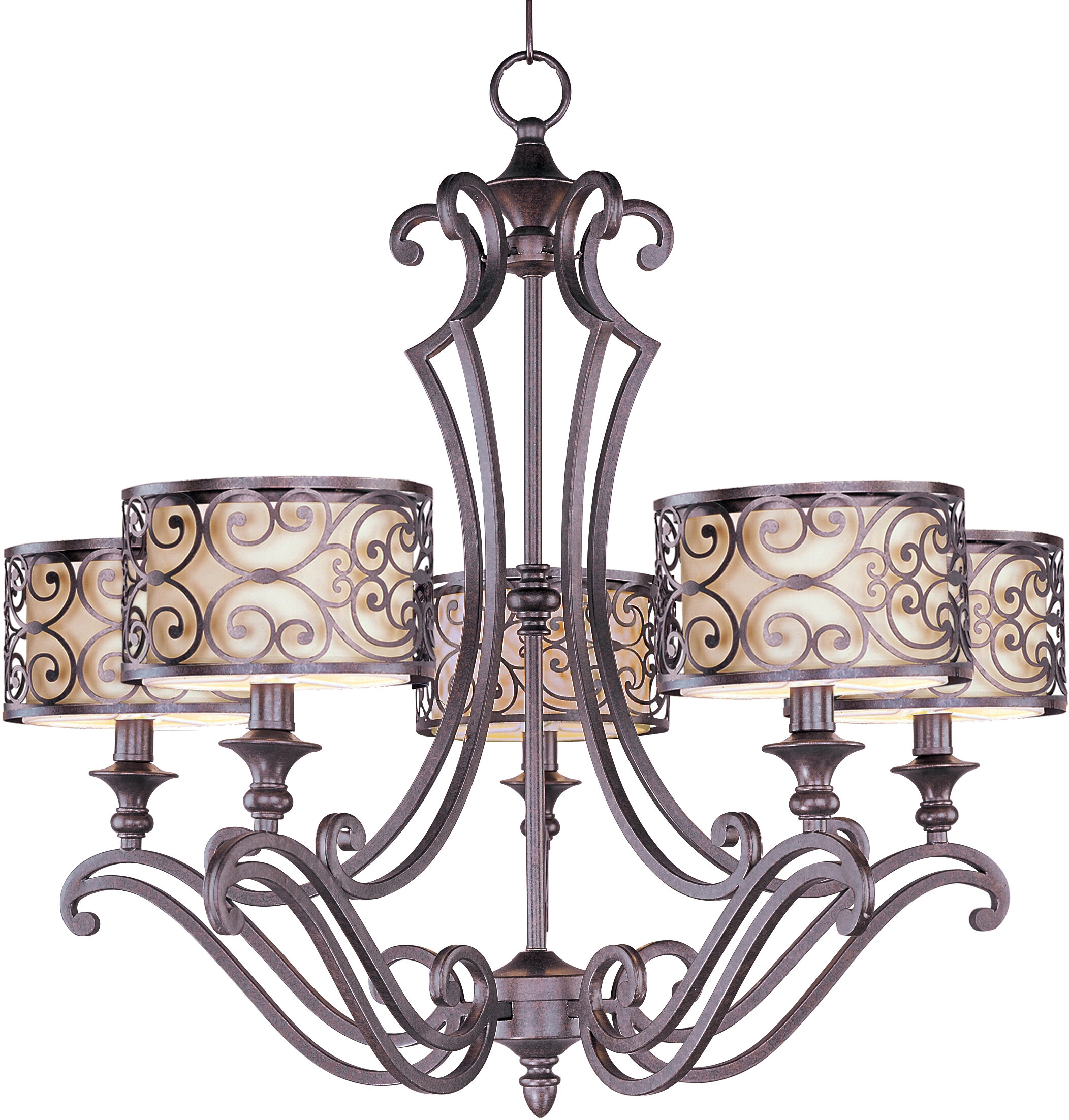 Three Posts Gidney 5 Light Drum Chandelier & Reviews