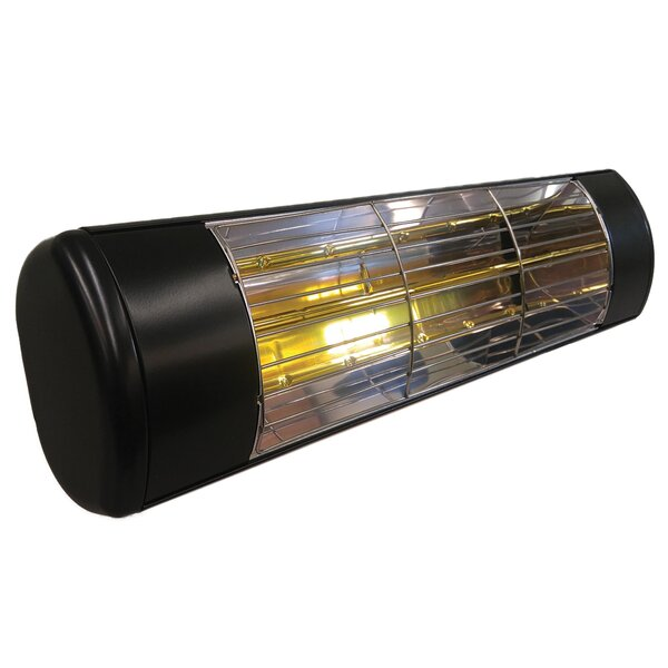 Outdoor Weatherproof 1500 Watt Electric Mounted Patio Heater by SUNHEAT International