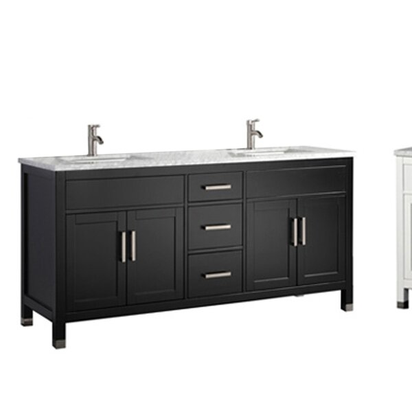 Peralez Modern 60 Double Bathroom Vanity Set by Brayden Studio