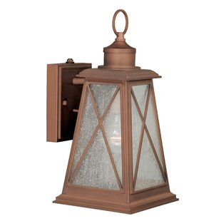 Compare & Buy Flemings 1-Light Outdoor Wall Lantern By August Grove
