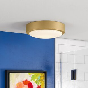 Great Price Ascella 2-Light Flush Mount By Ebern Designs