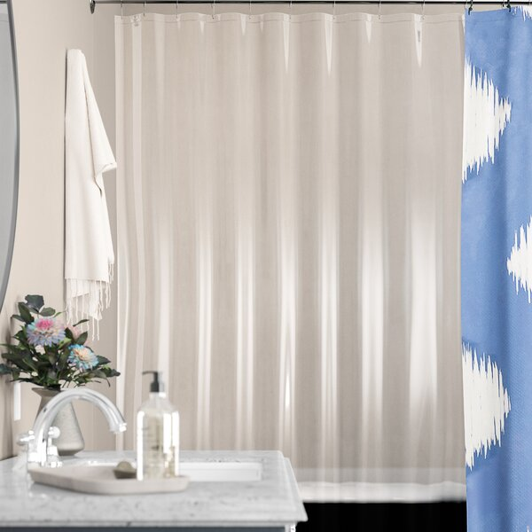 Stall PEVA Shower Curtain Liner by Symple Stuff
