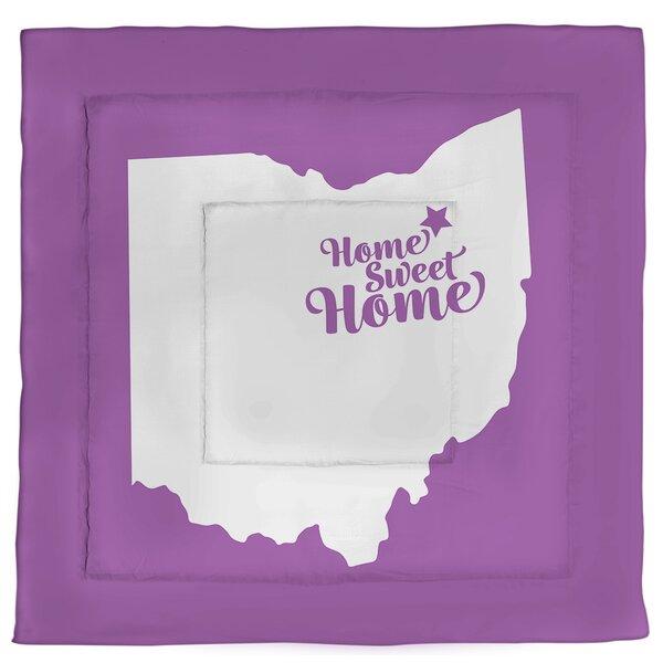 Akron Home Sweet Single Reversible Comforter