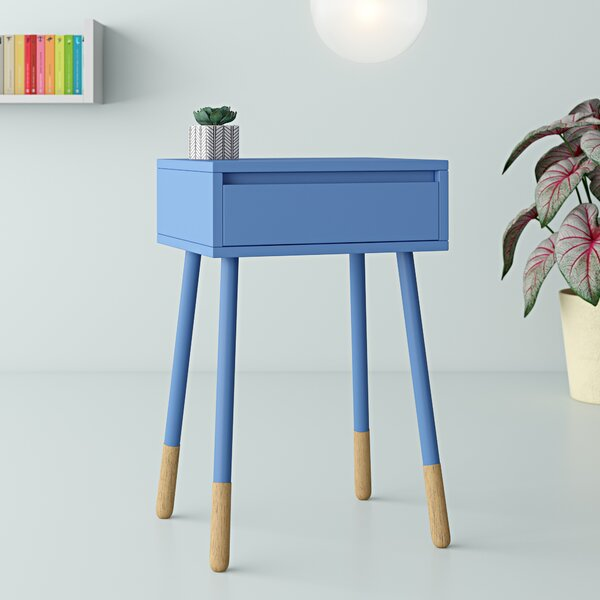 Review Rhone End Table With Storage