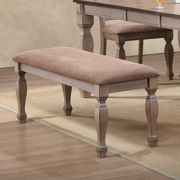 Leydy Upholstered Bench by Winston Porter