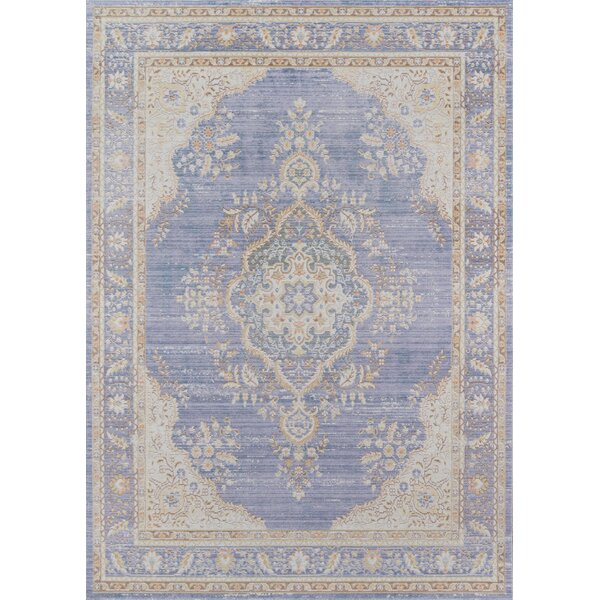 Sofian Periwinkle Area Rug by Ophelia & Co.