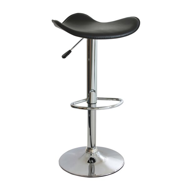 Laurendeau Adjustable Height Swivel Bar Stool by Ebern Designs