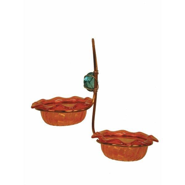 Double Cup Oriole Decorative Tray Bird Feeder by Birds Choice