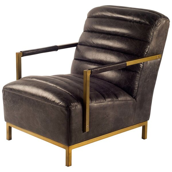 Cyrano Club Chair by 17 Stories