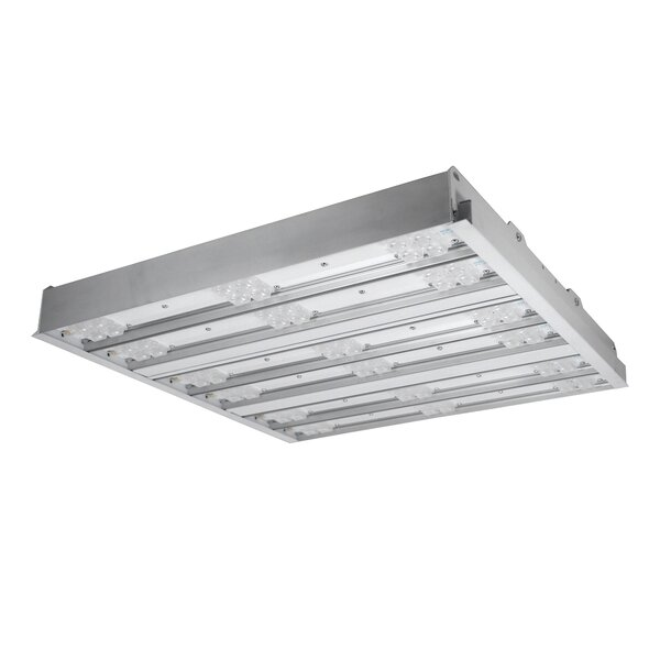 6 Bar Extra Wide Lens LED Highbay by NICOR Lighting