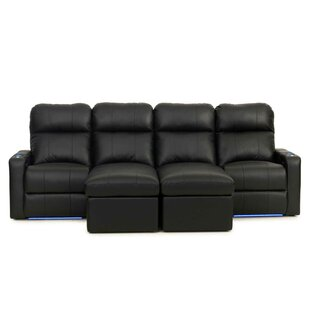 Leather Home Theater Sectional