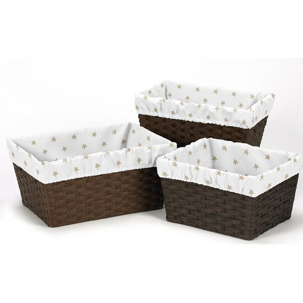 Celestial 3 Piece Basket Liner Set by Sweet Jojo Designs