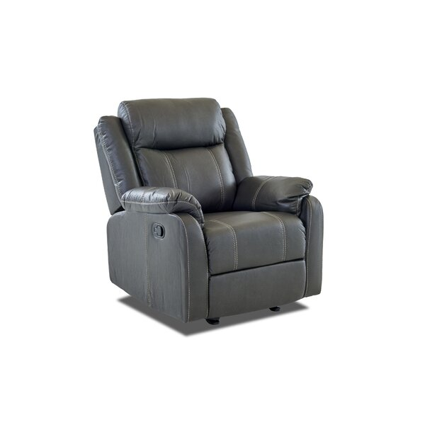 Rockville Manual Glider Recliner Red Barrel Studio RDBS7279