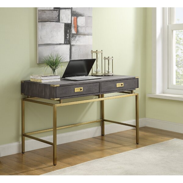 Laforest 2 Drawer Writing Desk by Mercer41