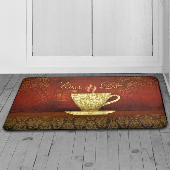 Chilton Oversized New Coffee Kitchen Mat by Red Barrel Studio