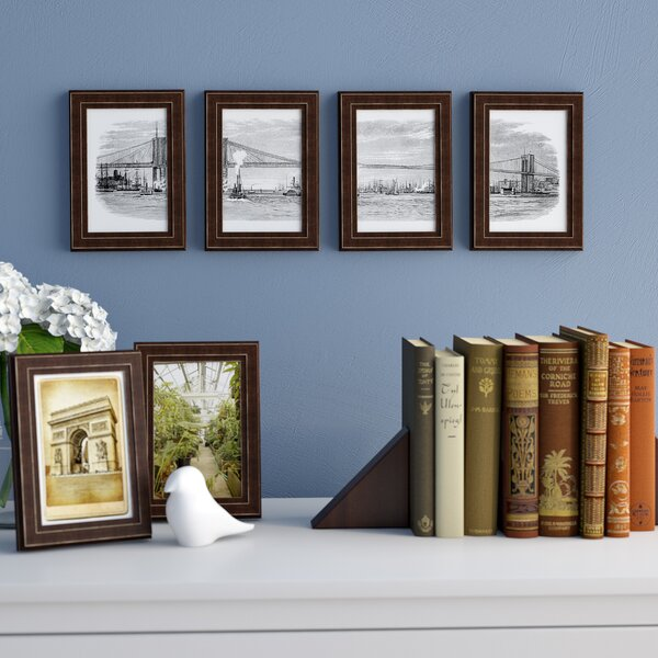 Espresso Brown Solid Wood Picture Frame (Set of 6) by Red Barrel Studio