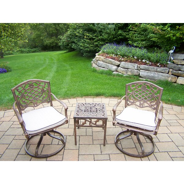 Mcgrady 3 Piece Conversation Set With Cushions By Astoria Grand by Astoria Grand Spacial Price