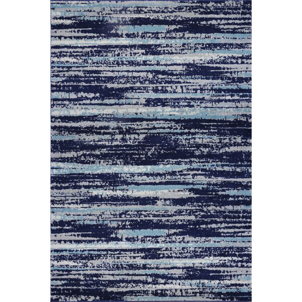 Bravo Blue Area Rug by Williston Forge