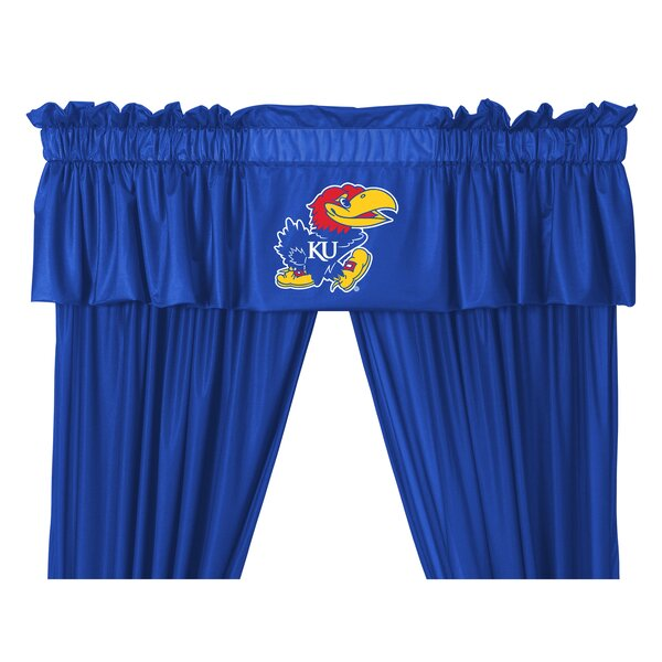 NCAA 88 Kansas Jayhawks Curtain Valance by Sports Coverage Inc.