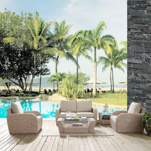 Boomer 5 Piece Sofa Set with Cushions By Highland Dunes