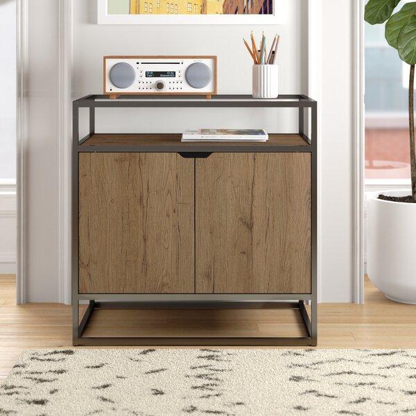 Aliso 2 -Shelf Storage Cabinet