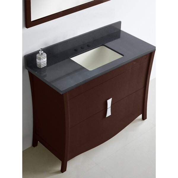 Bow 47 Single Bathroom Vanity Set by American Imaginations