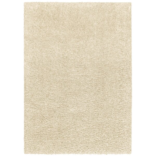 Vanessa Hand-Tufted White Area Rug by Threadbind