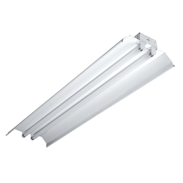 4 Two Lamp Industrial Strip T8 / 32 by Cooper Lighting