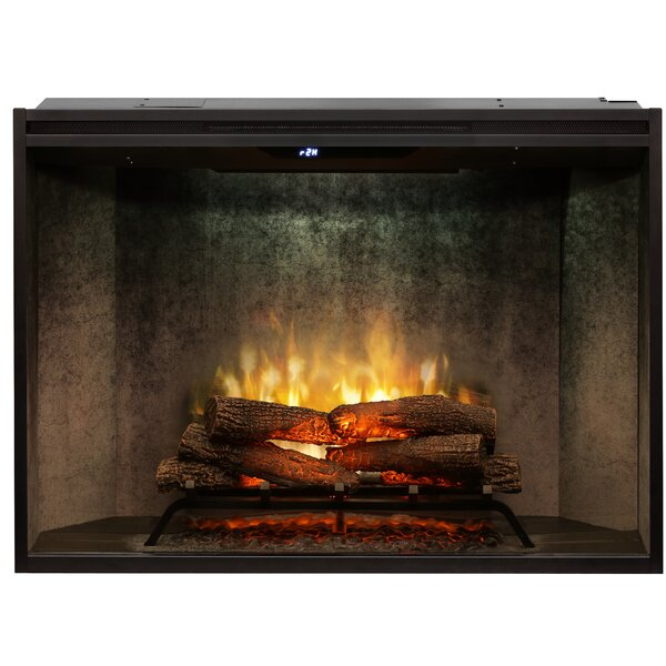 Revillusion® Recessed Wall Mounted Electric Fireplace Insert By Dimplex