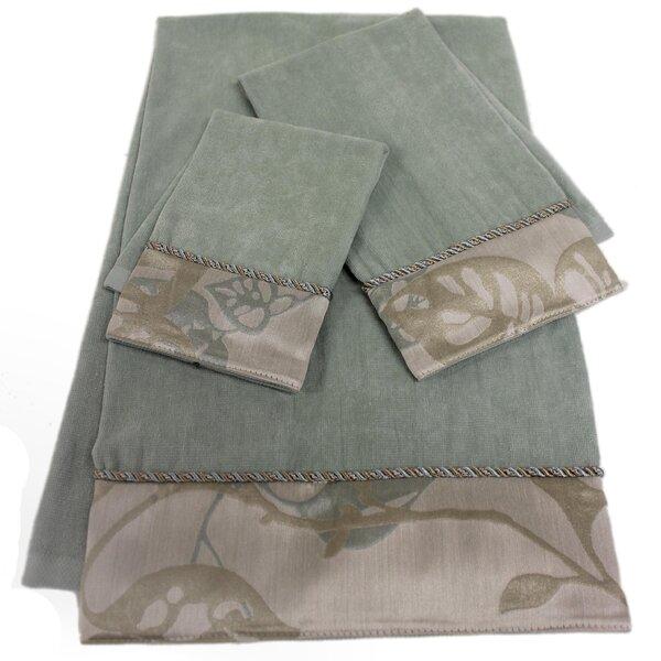Paradisio Decorative 3 Piece Towel Set by Sherry Kline