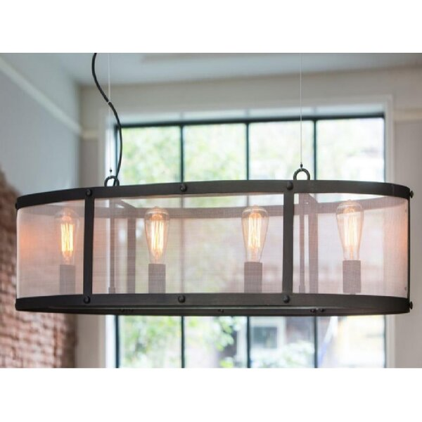 Manzella Wide 4-Light Kitchen Island Pendant by Gracie Oaks