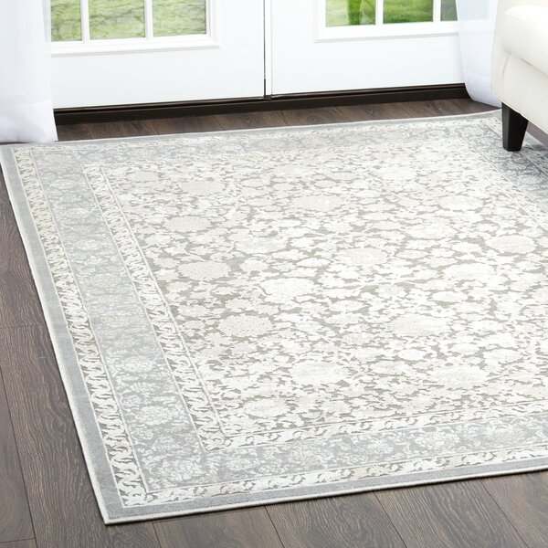 Infinity Gray Area Rug by Nicole Miller