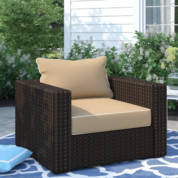 Dante Patio Chair with Cushions by Sol 72 Outdoor